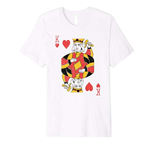 König der Herzen Spielkarten Halloween Kostüm ()