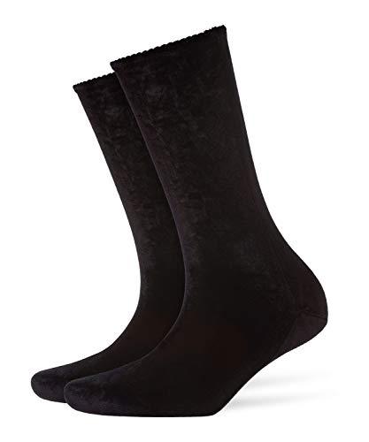 FALKE Herren Velvet Socken, Black, 41-42 Preisvergleich