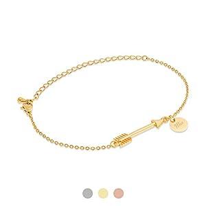 FELIA Armband Pfeil mit Gravur Namen | Edelstahl | Personalisierte Geschenke | Individuelle Wunschgravur…