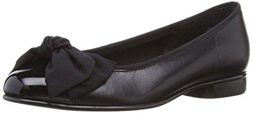 Gabor Shoes Basic, Damen Geschlossene Ballerinas, Schwarz (schwarz 37), 35.5 EU (3 Damen UK) (Schwarz Patent Ballerina Leder)
