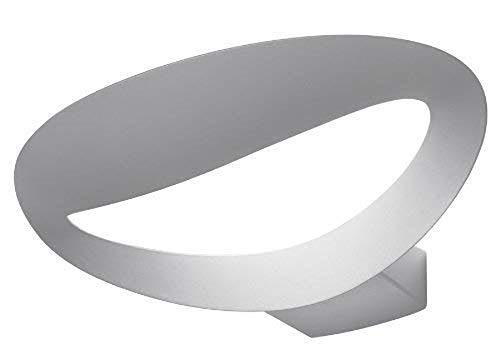 Artemide Mesmeri Halo Lampada da Parete, Alluminio, Bianco, 34 x 22.1 x 7.9 cm, Attacco Lampadina: R7s 118mm