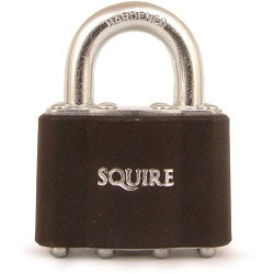 4-Pin Tumbler Padlock - Laminated Steel 45mm