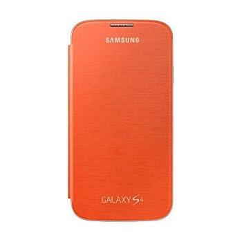 Samsung Galaxy S4 Flip Cover Case - Orange