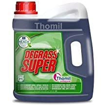 Thomil DEGRASS Super Desengrasante General de Superficies, Potente Limpiador de hornos, Campanas extractoras,