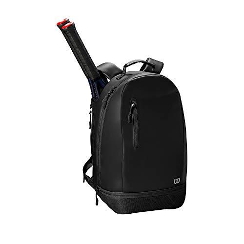 WILSON Damen Womens Minimalist Backpack Tennis Bag, Black, 2 Rackets