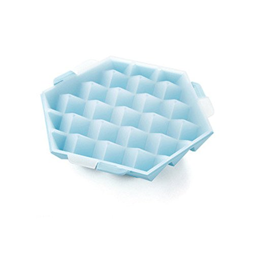 yiliay-square-shape-diy-freezer-ice-cube-trays-plastic-ice-maker-molds-with-lids-small-blue