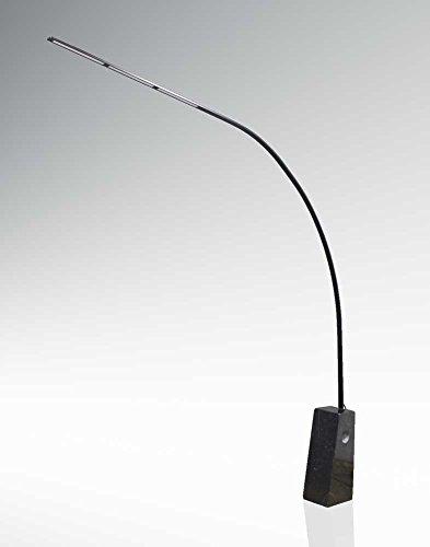 Bogenleuchte Big Lilli S LED rießiger hochkant Marmorsockel in schwarz H: 210cm 10682