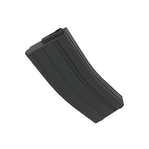 King Arms Airsoft Chargeur Pour Réplique De Type M4 / M16 Noir ABS 120 Billes