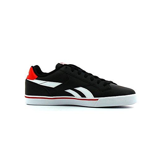 Tripudio Pieno Tennis Scarpe Da Le Rosso 2ll Bianco Nero Negro Uomo Reebok Reale nero xBFqwS7n
