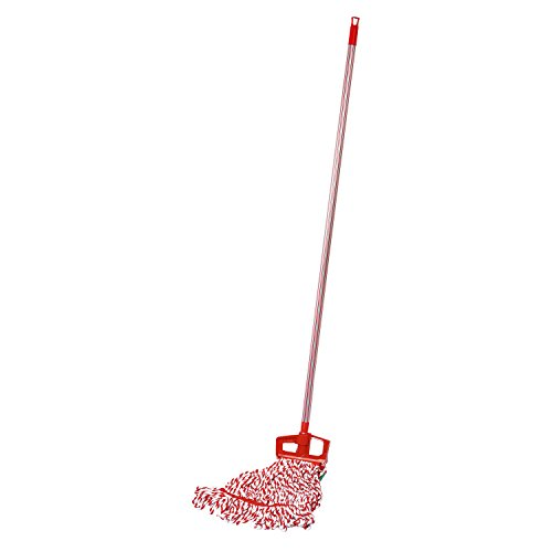 Cello Kleeno Plastic Clip and Fit Looped Mop (Red)