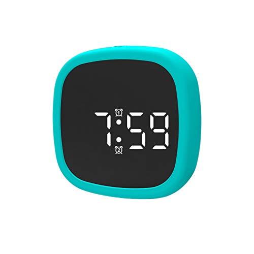 Sveglia digitale, TianranRT LED Minimalist Light Mini Alarm Clock Control Sound Sveglia ufficio per viaggi, camera dei bambini, casa, ufficio