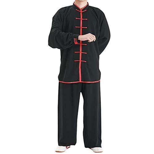 Yudesun Kampfsport Performance Kleidung - Chinesisch Traditionell Kostüme Erwachsene Erwachsene Sets Tai Chi Männer Uniform Kung Fu Frauen Übung Komfort Langarm