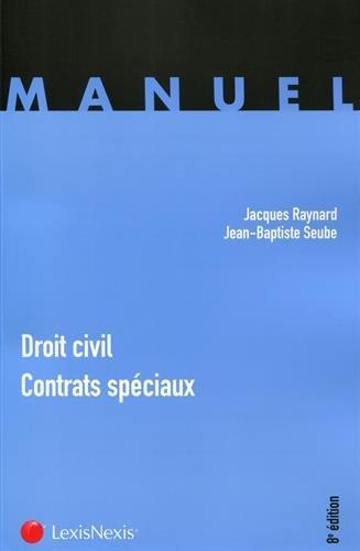 Droit civil - Contrats spciaux