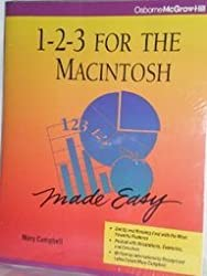 1-2-3 for the Macintosh Made Easy