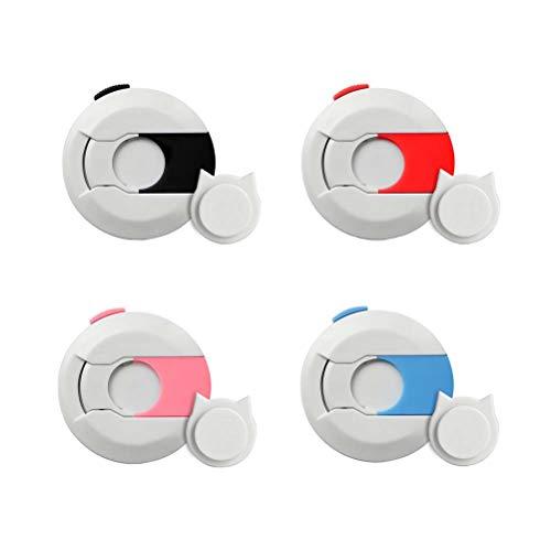Safe Mobile (4PC Handy Anti-verlorene Gerät C-Schutz C-sicher Kreative Mobile Pocket Lock Super Starke Magnetische Universal Handy Anti-Diebstahl-Gerät (Gemischte Farbe))