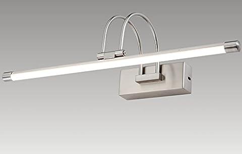 Sucatle Einfach, LED, Spiegel vorne Licht, drehbar, Bad, Bad, Schlafzimmer, Safe, Feuchtigkeit, Spiegel, Spiegel Schrank Lichter Sucatle