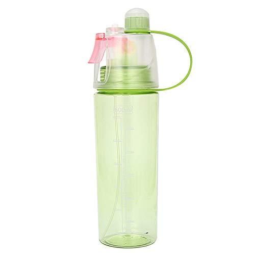 GHYJJJKU 600Ml Sport Radfahren Nebel Spray Wasser Gym Strand Flasche Auslaufsichere Trinkwasserflasche - Spray-flasche Classic