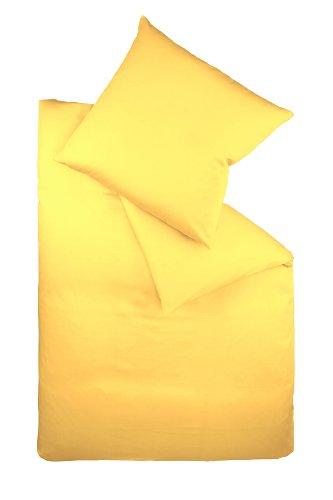 Galleria fotografica fleuresse Colours 9100006, Set di biancheria da letto, Giallo (gelb), 155 x 220 cm