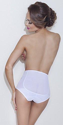 Mitex Damen Miederslip figurenformend Farben schwarz, weiß, beige Beige