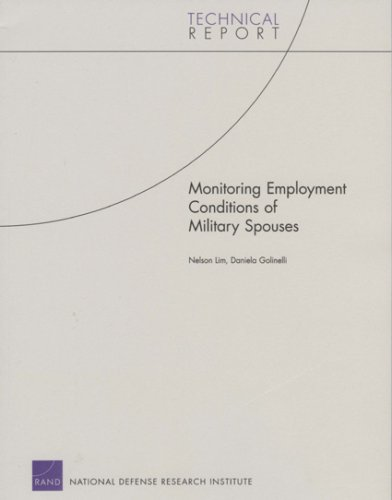 Monitoring Employment Conditions of Military Spouses: Technical Report