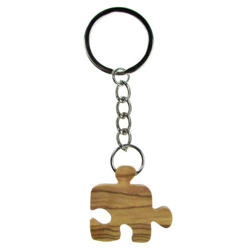 from-the-earth-olive-wood-puzzle-piece-keychain-fair-trade-handmade-by-from-the-earth
