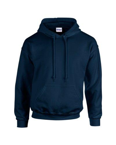 Gildan - Unisex Kapuzenpullover 'Heavy Blend' , Navy, Gr. M - Blau Hoodie Sweatshirt