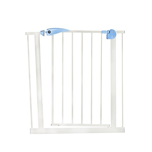 YNN Porte de sécurité Escalier Barre de porte Porte d'isolement pour animaux de compagnie Porte d'isolation 76-86cm Largeur de porte