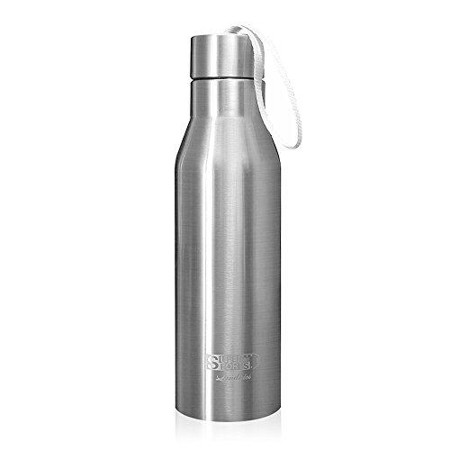 720ML Botellas Agua de Acero Inoxidable, Deportiva Botella Térmica Libre de BPA...