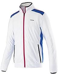 HEAD - Oberkörper Bekleidung Club Jacket - mixte - Multicolore (Blanc / Rouge / Bleu) - L