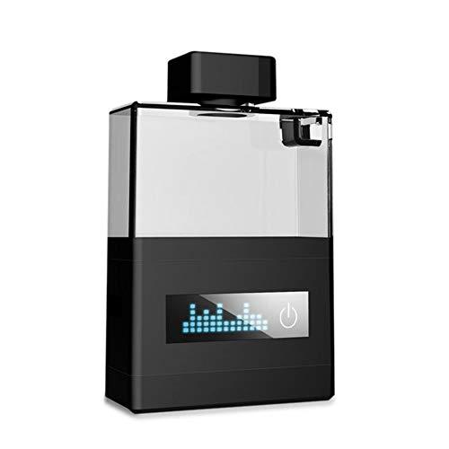 Trinkflasche Filterflaschen Trinkwasser Hydrogen WasserstoffReiches Becher Elektrolyt Wasserstoff Generator Tragbar, Wiederaufladbare, Powerbank Sportflasche, USB Gebühr Mode Design,Black