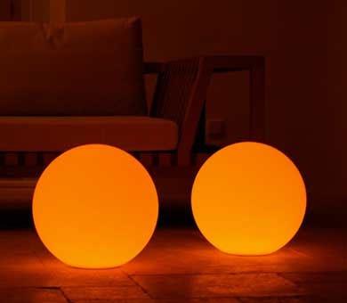 LED Leuchtball Lichtball Leuchtkugel Garten Lampe Beleuchtung
