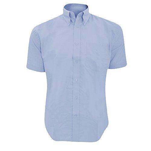 Chemise à manches courtes Kustom Kit Workforce pour homme Bleu italien