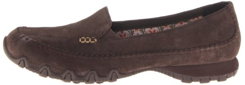 Skechers Relaxed Fit Bikers Pedestrian Women's Walking Shoes – Brown (Chocolate), 7 UK (40 EU)