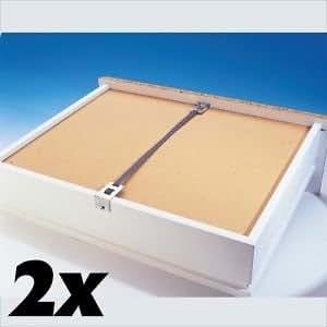 Fix un tiroir Kit de réparation facile à cassé tiroirs + fix d'un tuyau pour réparation Burst facilement ou perforé Eau tuyaux. Chaque Bricoleur doit avoir CE Kit