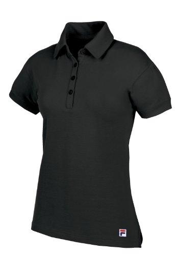 Fila Golf Damen Poloshirt Jakarta, Damen, schwarz, X-Small