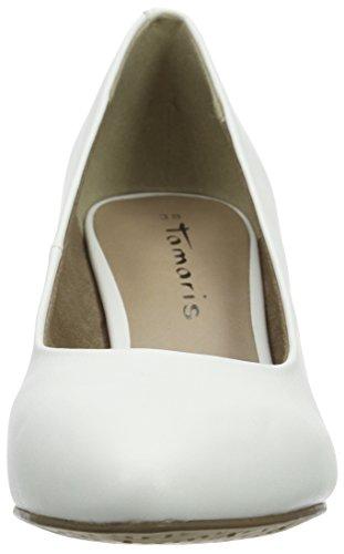 Tamaris Damen 22416 Pumps Weiß (White Matt 108)