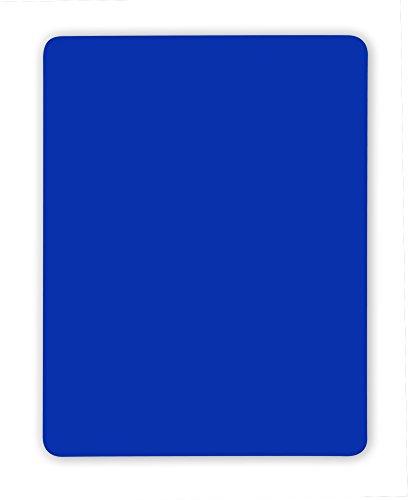 Schiedsrichter Disziplinarkarte (Blaue Karte) für Handball, Volleyball, 9 x 12 cm, PVC, abgerundete Ecken, gem. internationalem Reglement - ohne Logo/Branding
