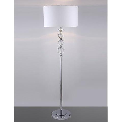 GJY-Lampada da terra moderna con vetro palle di decorazione , 220-240v