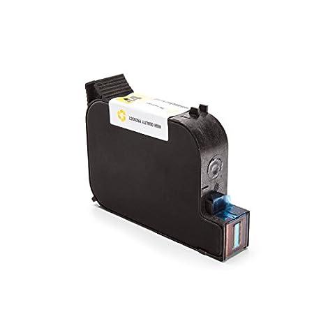 Inkadoo® Tinte passend für HP DesignJet 750 Series ersetzt HP 44 , NO44 , Nr 44 51644YE - Premium Drucker-Patrone Kompatibel - Gelb - 42 ml