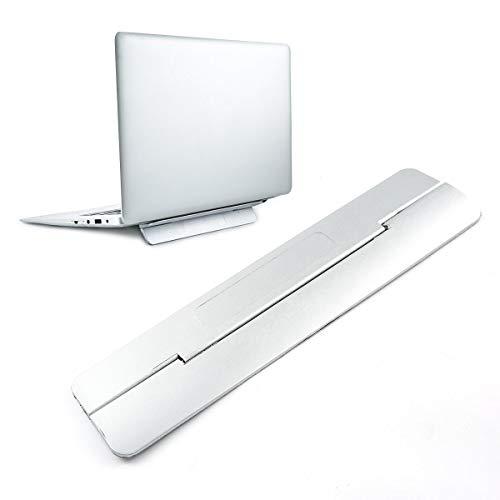 Pawaca Laptopständer Für Schreibtisch, MacBook-Ständer, Computerständer Zum Kühlen, Verstellbarer Laptophalter Für MacBook Und Alle Laptops Faltbares Arbeitswerkzeug Für Laptops 12 13 15 17-Zoll-Grau