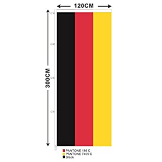 Abasonic Germany Flag Flag Portrait 300 x 120 cm