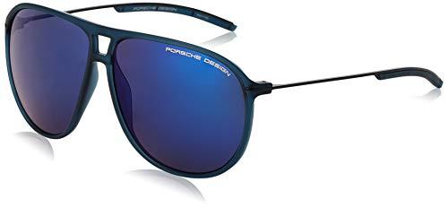 Porsche Design Herren Sunglasses P8635 D 61 Sonnenbrille, Blau, 58