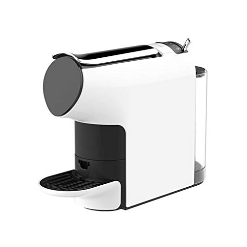 Coffll Kaffeemaschine, Kapselkaffeemaschine 580ML Großer Wassertank, Espressomaschine 9 Konzentrationsdesign,Weiß