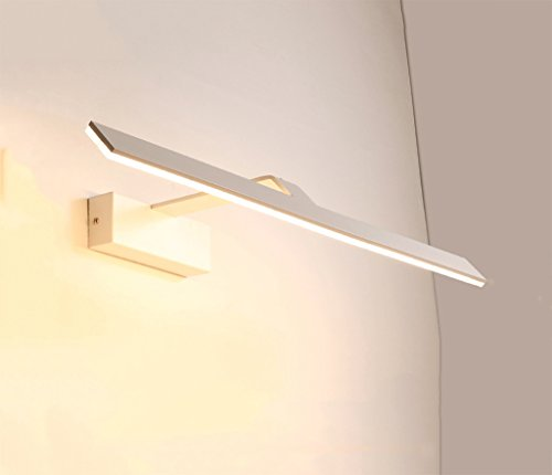 WYDM Geführte Spiegel-Kabinett-Spiegel-Frontleuchte/WC-Badezimmer-wasserdichte Nebel-Make-uplampe, die Lampe ankleidet (Size : 42cm) - Für Lichtbalken Badezimmer