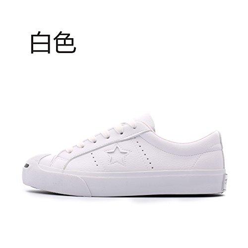 Wuyulunbi@ La primavera e autunno scarpe scarpe scarpe bianco Bianco