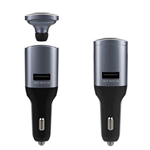 Babysbreath17 Bluetooth Smart-Auto-Ladegerät Freisprecheinrichtung/Headset w/AUX Audioausgang Rauschunterdrückung Auto sicheres Fahren Kopfhörer