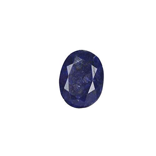 Hochwertiger blauer Saphir Edelstein 11,75 ct natürlicher ovaler Schliff facettierte Africa Mines blauer Saphir Edelstein
