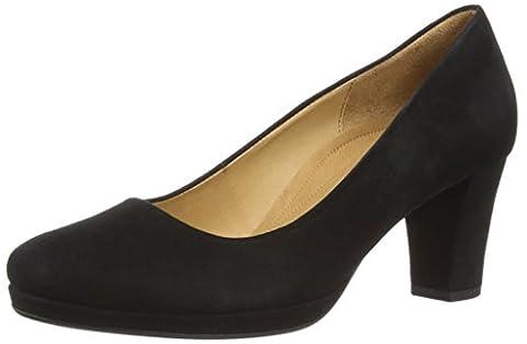Gabor Shoes Comfort Fashion, Damen Pumps, Schwarz (schwarz 47), 44 EU (9.5 Damen UK)
