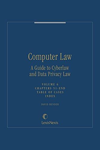 Computer Law, Volume 6 (English Edition)
