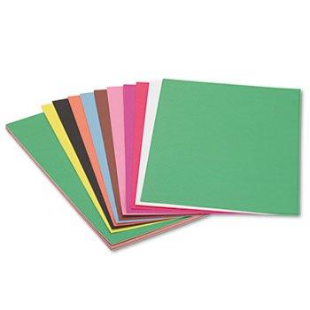 Bau Papier Schweres 12 x 18 10 Farben 50 Blatt ()